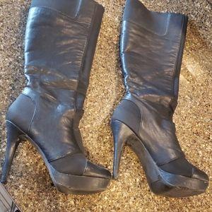 Jessica Simpson tall black boot sz 8.5